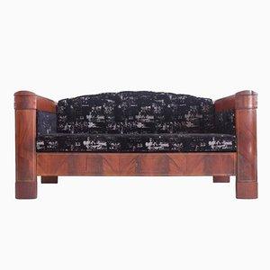 Diván o sofá cama danés Imperio de caoba, siglo XIX