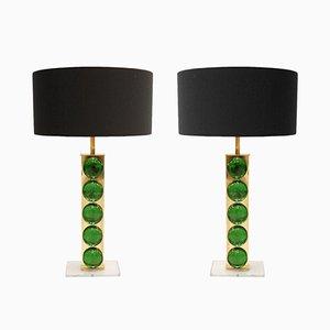 Italienische Vintage Tischlampen, 2er Set