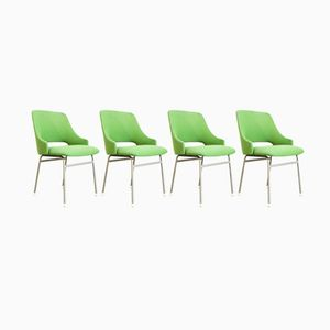 Dutch FM32 Dining Chairs by Cees Braakman for Pastoe, 1970s, Set of 4