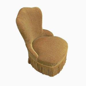 Vintage Velour Children's Chair