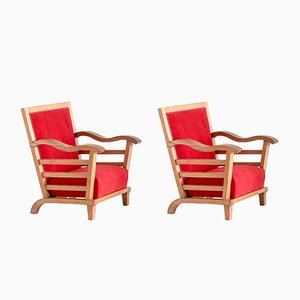 Armchairs by Marguerite Dubuisson, 1947, Set of 2