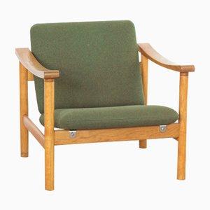 Mid-Century Oak Armchair by Hans J. Wegner for Getama