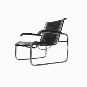 S 35 Armchair in Tubular Steel by Marcel Breuer for Thonet, 1970s