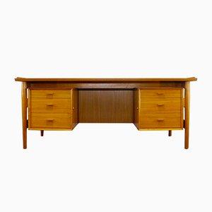 Teak Executive Desk by Arne Vodder for Sibast Furniture, 1960s