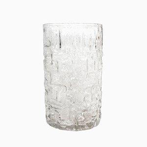 Vase Vintage en Cristal Sculpté par Tapio Wirkkala pour Littala