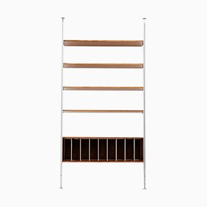 Mid-Century Rosewood Wall Unit by George Nelson for Herman Miller