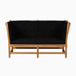 Modell 1789 Sofa mit Speichen-Rückenlehne von Børge Mogensen für Fritz Hansen A/S, 1970er