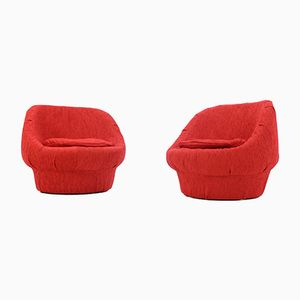 Mid-Century Mushroom Chairs, 1970s, Set of 2