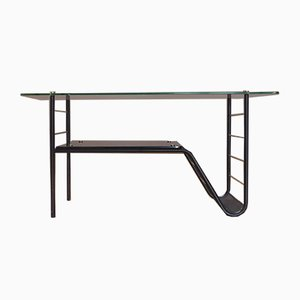 Vintage Glass Coffee Table by Pierre Guariche