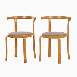 Danish Dining Chairs by Thygsen & Sørensen for Magnus Olesen, 1980s, Set of 2
