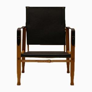 Leather Safari Chair by Kaare Klint for Rud. Rasmussen