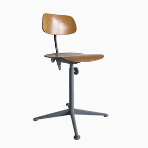 Industrial High Drawing or Architect Chair by Friso Kramer for Ahrend Cirkel, 1973