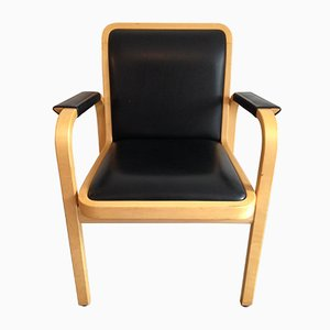 Vintage E45 Armlehnstuhl von Alvar Aalto für Artek