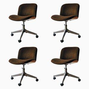 Chaises de Salon Mid-Century par Ico Parisi pour MIM Design, Set de 4
