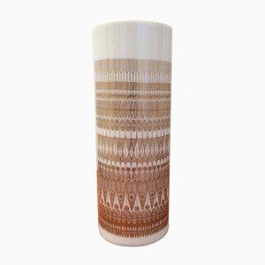 White & Gold Vase by Hans Theo Baumann for Rosenthal Studio Line, 1970s