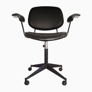 Mid-Century Swivel Chair by BBPR for Olivetti Synthesis