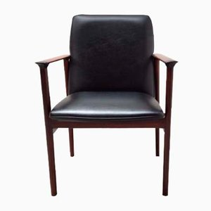 Mid-Century Diplomat Armchair by Arne Vodder for Sibast
