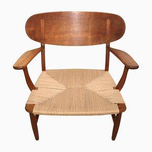 CH22 Shell Stuhl von Hans Wegner für Carl Hansen & Søn, 1951