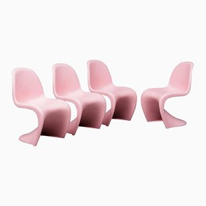S Stühle von Verner Panton für Vitra, 1958, 4er Set