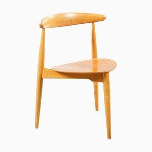 FH 4103 Heart Chair by Hans Wegner for Fritz Hansen, 1952