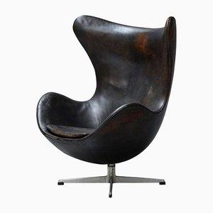 Egg Chair von Arne Jacobsen für Fritz Hansen, 1960er