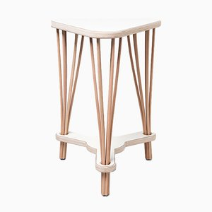 Dowel Side Table by Nadav Caspi