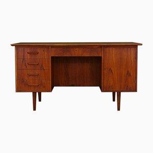 Dänischer Vintage Schreibtisch mit Teak-Furnier