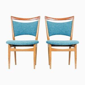 SW87 Chairs by Finn Juhl for Søren Wiladsen, 1952, Set of 2
