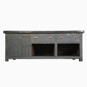 Industrieller Vintage Zink Küchenschrank