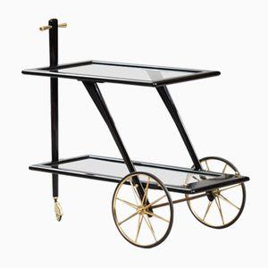 Italienischer Mid-Century Teewagen