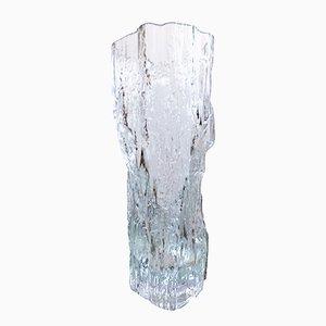 Eisglas Vase von Tapio Wirkkala für Iittala, 1970er
