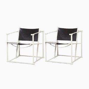 FM61 Würfel Stühle von Radboud van Beekum für Pastoe, 1980er, 2er Set