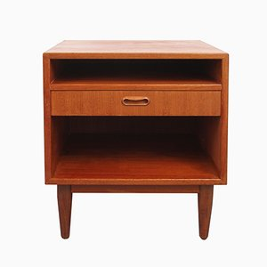 Teak Nightstand from Falster, 1950s
