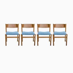 Esszimmerstühle von Cees Braakman für Pastoe, 1950er, 4er Set