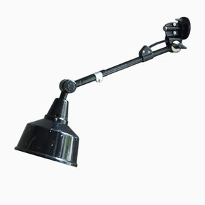 Vintage Black R1 Reading Lamp by Curt Fischer for Midgard