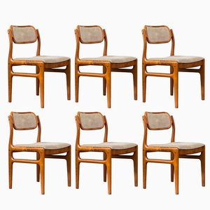 Dining Chairs by Johannes Andersen for Uldum Moøbelfabrik, 1960s, Set of 6