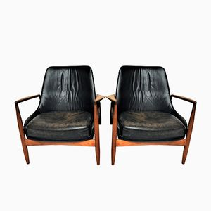 Sälen Easy Chairs by Ib Kofod-Larsen for OPE, 1957, Set of 2