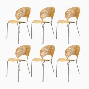 Vintage Trinidad Stühle von Nanna Ditzel für Frederica, 6er Set