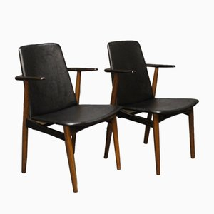 Rosewood Armchairs by Hans Olsen, 1960s, Set of 2
