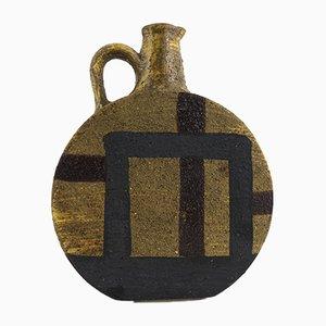 Ceramic Pitcher Vase by Aldo Londi for Bitossi, 1950s
