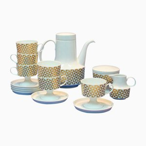 Vintage Porcelain Coffee Set from Rosenthal