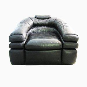 Vintage Leather Armchair by De Pas, D'Urbino, Lomazzi for Zanotta