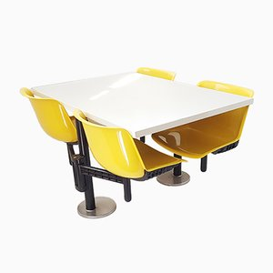Modus Table & Chairs by Osvaldo Borsani for Tecno, 1972