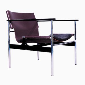 Vintage Sling Lounge Chair by Charles Pollock for Knoll International
