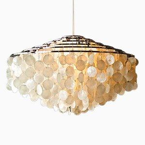 Mid-Century Fun-12 DM Seashell Lamp by Verner Panton for J. Lüber AG