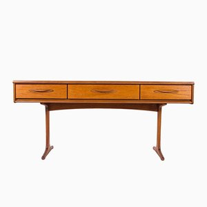 Vintage Teak Console Table from Austinsuite