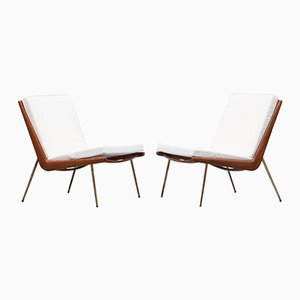 Vintage Lounge Chairs by Peter Hvidt & Orla Mølgaard-Nielsen for France & Søn, Set of 2