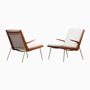 Mid-Century Sessel mit Armlehnen von Peter Hvidt & Orla Mølgaard-Nielse für France & Son, 2er Set
