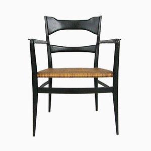 Vintage Italian Mid-Century Lounge Chairs, Set of 2