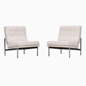 Parallele Vintage Sessel von Florence Knoll Bassett, 2er Set